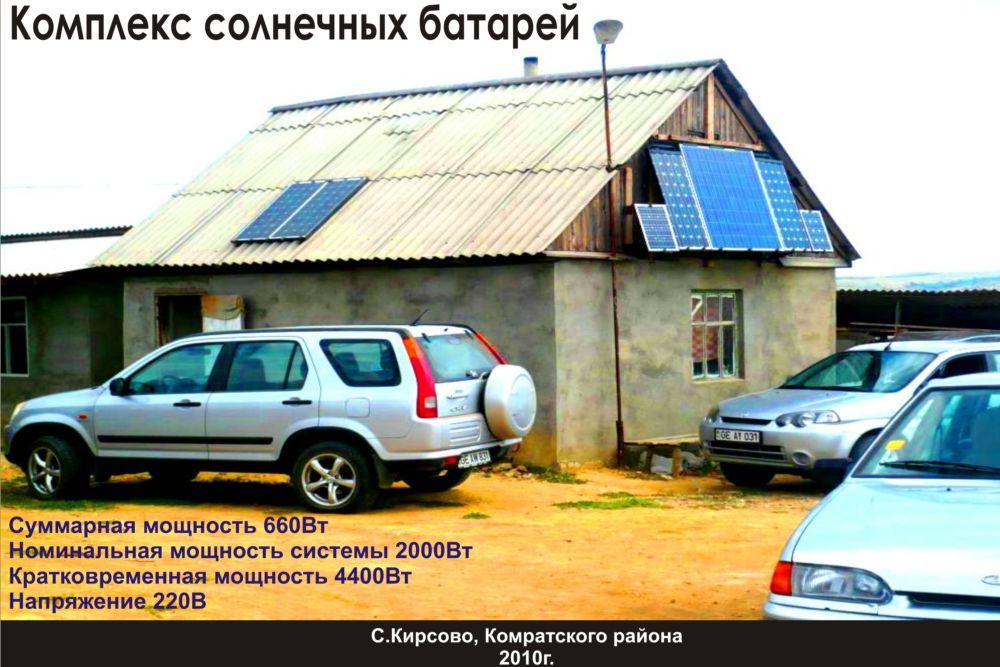 Комплекс солнечных