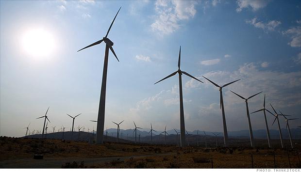Ветроэлектростанция GoogleВетроэлектростанция Google