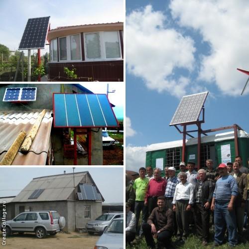 Солнечные установки Гагаузии