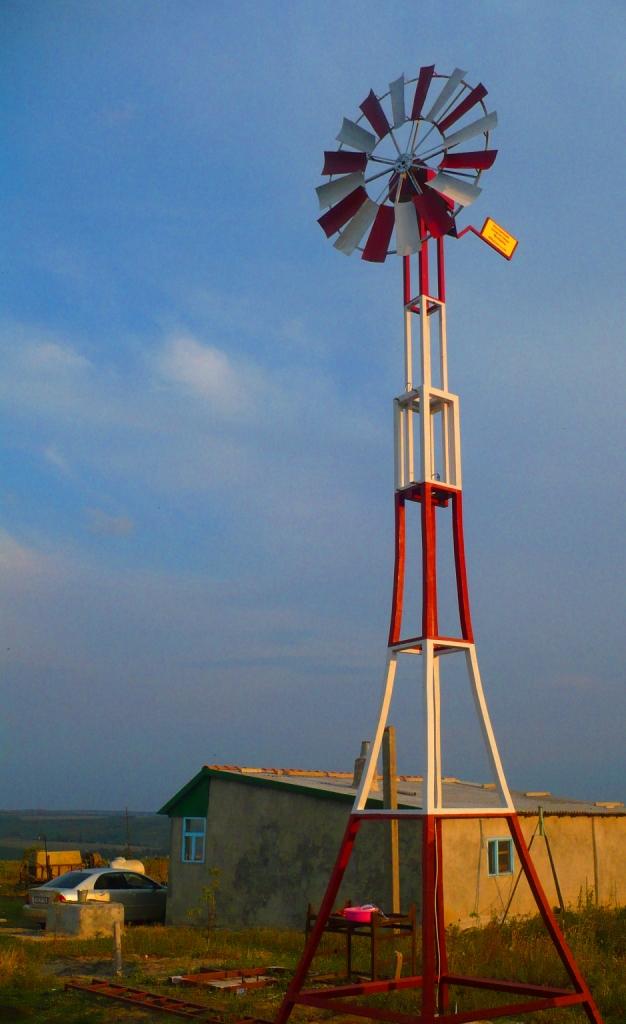 Ветроэлектростанция: совместный Проект Ассоциации энергии ветра Молдовы и Института энергетики РМ, 2009г.